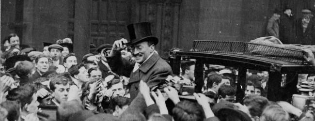 Sven Hedin in Manchester in 1909.