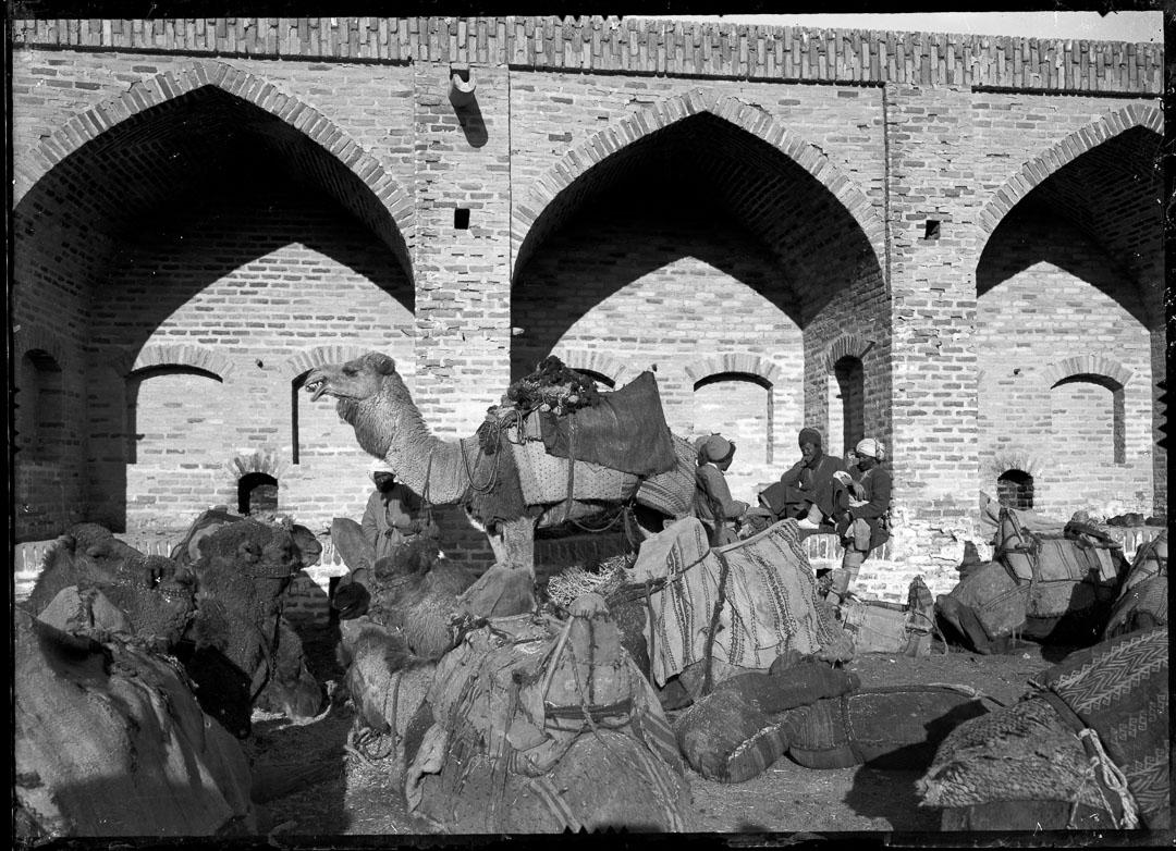 Handelskaravan i Rabat-gur