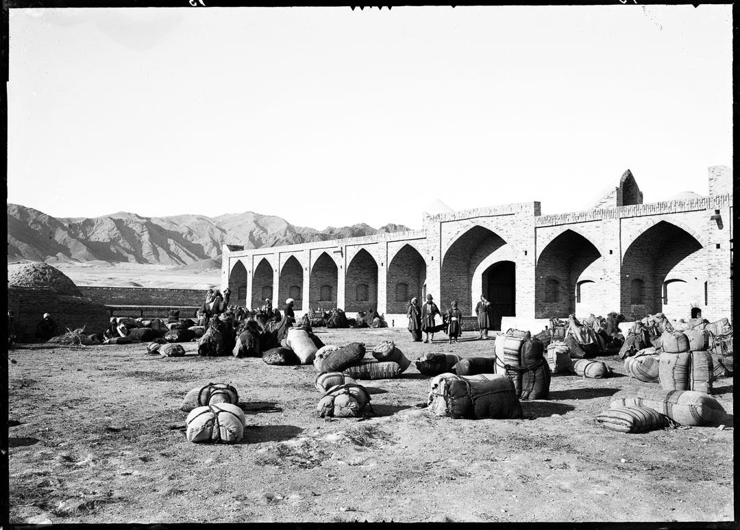 Karavanserajet Rabat-gur i Persien